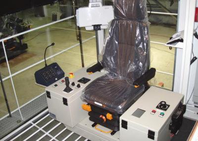 Poste de conduite de Cabine de commande - Control cabin driving environment - Führerstand Steuerkabine