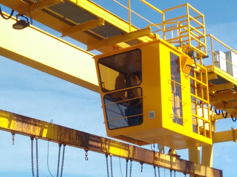 Manufacturer of control cabins for overhead traveling cranes