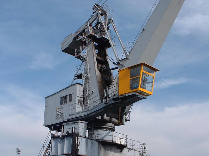 Builder of control cabins for cranes