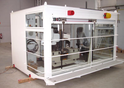 Cabine de commande -  Control cabin - Steuerkabine
