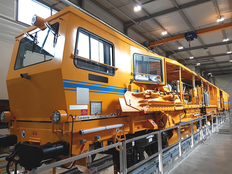 Manufacture of railway engine cabins