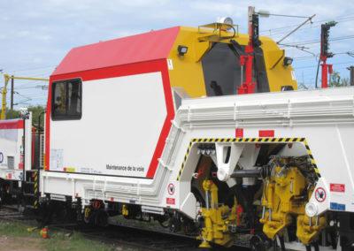 Cabine d'engin ferroviaire - Railway engine cabin - Kabine für Schienenfahrzeuge