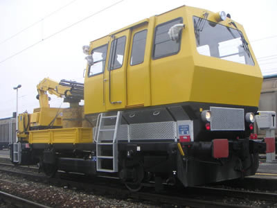 Design and manufacture of railway machinery cabins