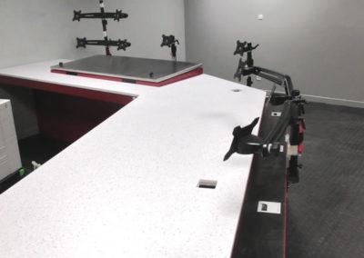 Pupitre de contrôle - Control console - Steuerpult