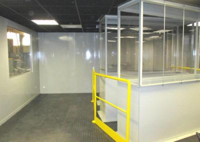 Intérieur salle de commande - Inside control room - Inneneinrichtung Leitwarte