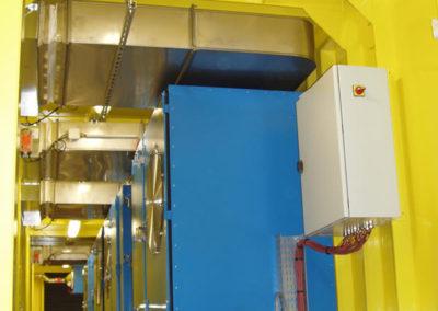 Intérieur Salle électrique - Inside Electric Room - Inneneinrichtung Elektroraum